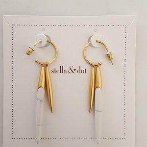 [Stella & Dot] Quill Earrings